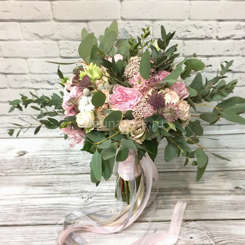 Свадебные букеты где купить в санкт-петербурге, цветы доставкой